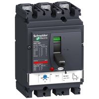 Силовой автомат Schneider Electric Compact NSX 100, TM-D, 25кА, 3P, 100А