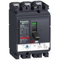 Силовой автомат Schneider Electric Compact NSX 160, TM-D, 25кА, 3P, 160А